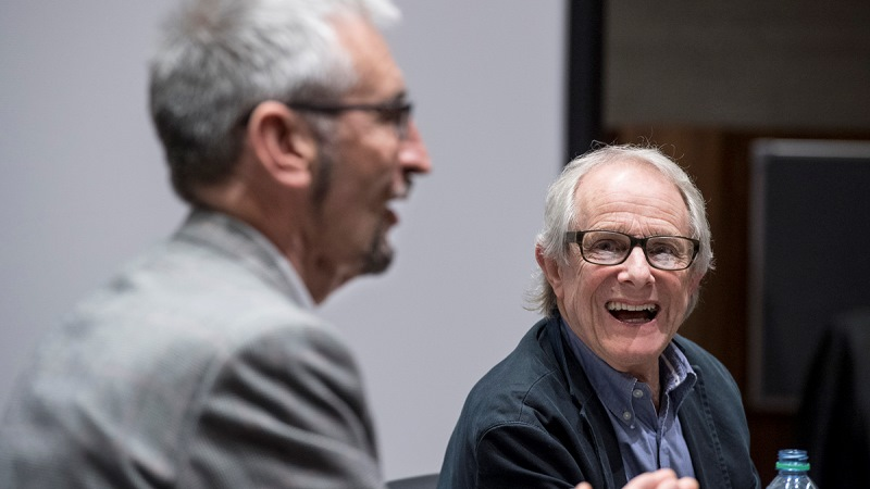 Director Ken Loach inspires film students at Oxford Brookes