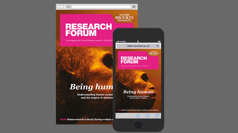 Latest issue of research forum magazine out now