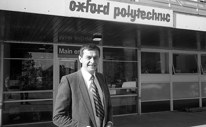 David Watson when he was Deputy Director of Oxford Polytechnic