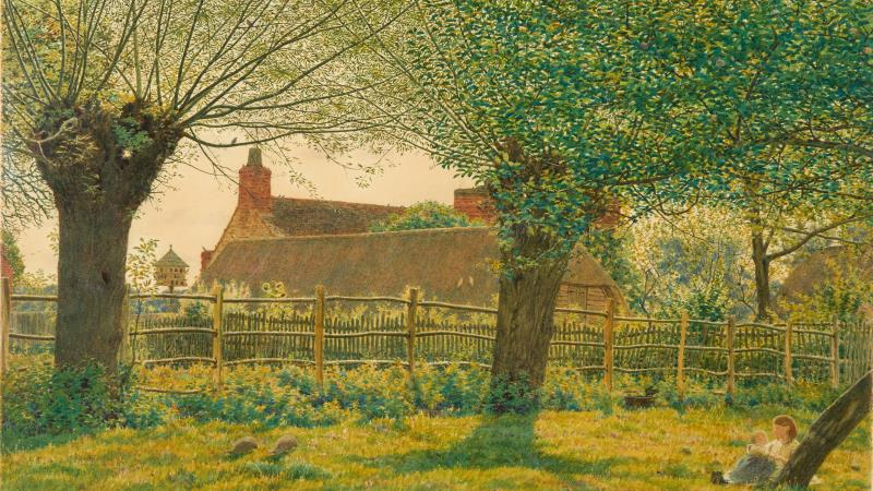 Celebrating the role of trees and woodland in British Art