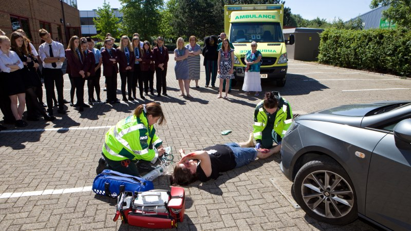 Community simulation day Swindon Campus