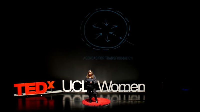 Brookes professor took part in TEDxUCLWomen event