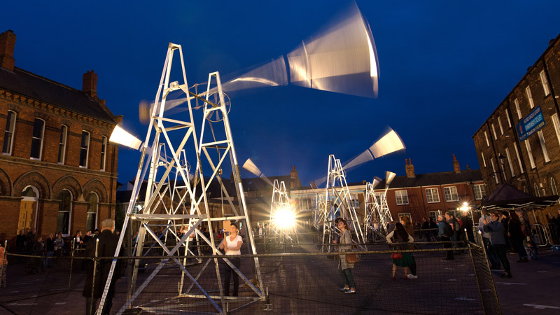 Award-winning composer and lecturer brings sound art to Oxford Christmas Lights Festival