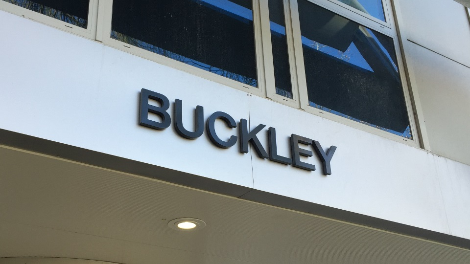 Buckley entrance