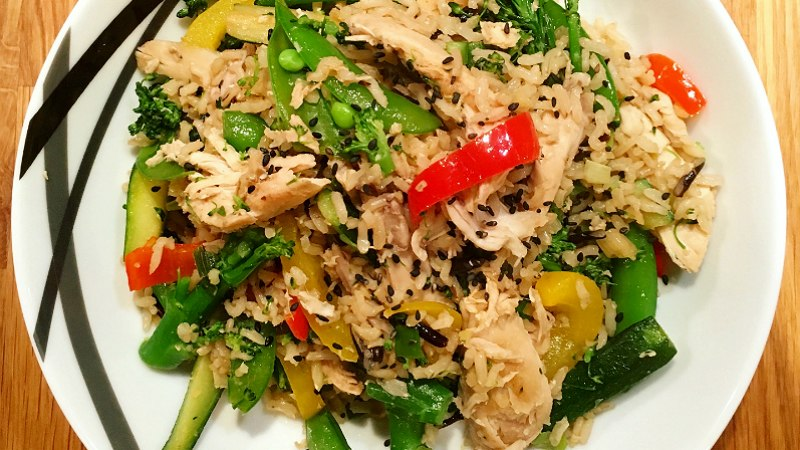 Sesame and Ginger Chicken Stir Fry