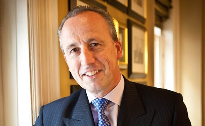 Kiaran MacDonald, Managing Director of The Savoy and supporter of Oxford Brookes