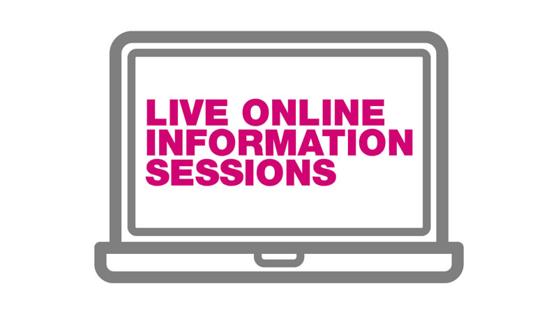 Online info session