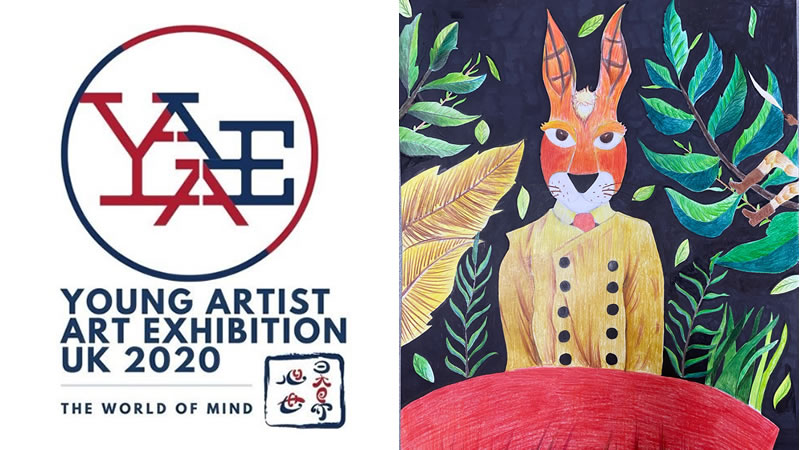 The World of Mind - Young Artist Art Exhibition UK 2020