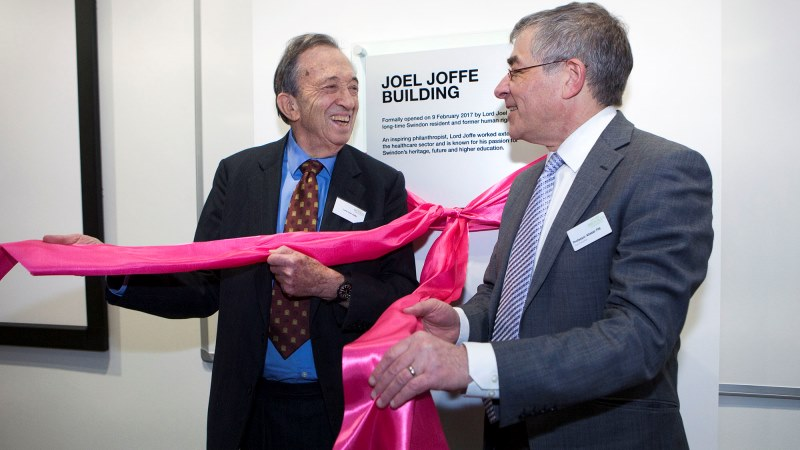 Oxford Brookes holds official opening ceremony at Swindon Campus