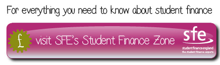 Student finance button